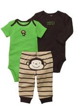 Набор (комплект) Carters обезьяна (2 боди, штаны)