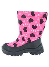 Kuoma Putkivarsi Winter Heart 130337-3707 Pink шерстяная подкладка