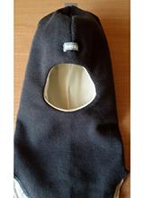 шлем Beezy 1405-8 Балаклава темно серый