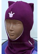 шлем Beezy 1450-15 Кошечка фиолетовый