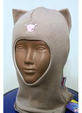 шлем Beezy 1450-19 Кошечка бежевый