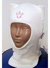 шлем Beezy 1450-21 Кошечка белый