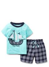 Набор (комплект) Carters (футболка, шорты)