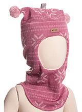 Kivat 456-14 киват шапка-шлем Snow flakes