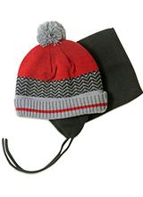 шапка c манишкой Peluche & Tartine F18 ACC 63 EG Really Red