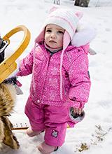 Deux Par Deux A501-021 W19 зимний комплект для малышей