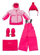 Зимний термокомплект Gusti Boutique GWG 4294 PINK LEMONADE
