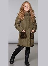 Deux Par Deux W59-259 W20 зимнее пальто